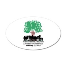 Reunion Personalized Wall Decal