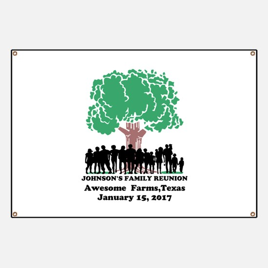 Reunion Personalized Banner