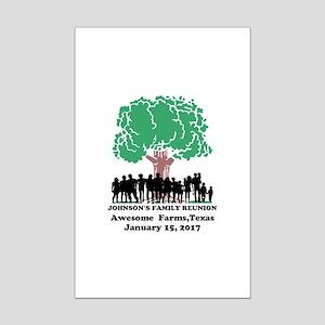 Reunion Personalized Mini Poster Print