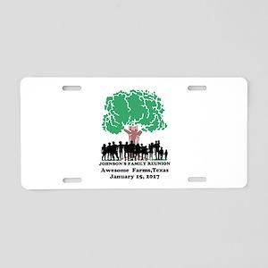 Reunion Personalized Aluminum License Plate