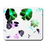 Blooming space Mousepad