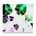 Blooming space Tile Coaster