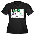 Blooming space Plus Size T-Shirt