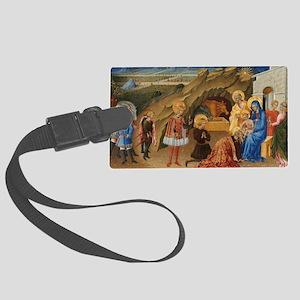Giovanni di Paolo - The Adoratio Large Luggage Tag