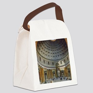 Interior of the Pantheon Rome Canvas Lunch Bag