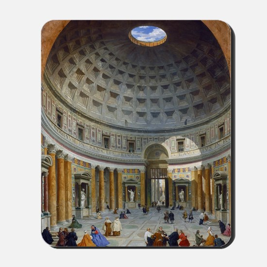 Interior of the Pantheon Rome Mousepad