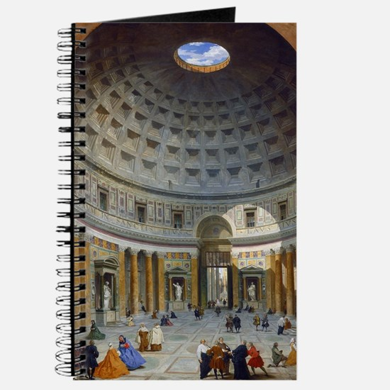 Interior of the Pantheon Rome Journal