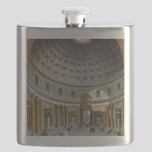 Interior of the Pantheon Rome Flask
