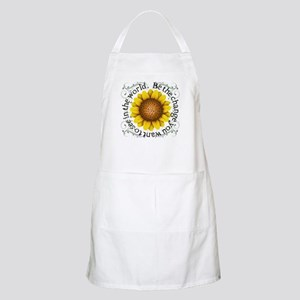 Be the change you want to see in the world Apron
