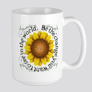 Be the change you want to see in the world Mugs