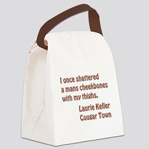 I ONCE... Canvas Lunch Bag