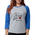 Icelandic Sheepdog my best bud Womens Baseball Tee