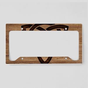 celtic knot License Plate Holder