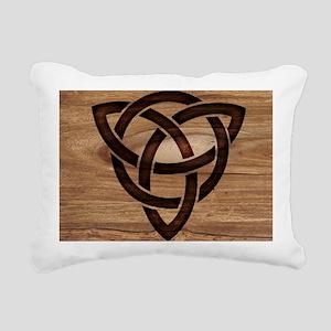 celtic knot Rectangular Canvas Pillow