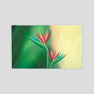 Paradise Flower 3'X5' Area Rug