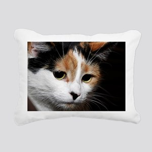 Calico Cat Chiara Rectangular Canvas Pillow