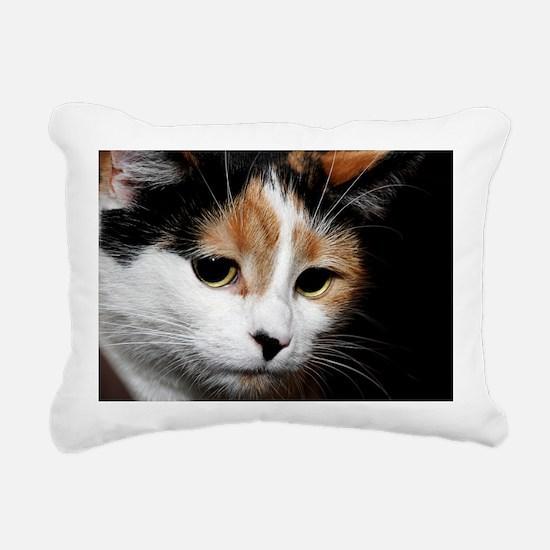 Calico Cat Chiara Rectangular Canvas Pillow