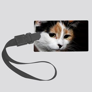 Calico Cat Chiara Large Luggage Tag