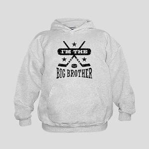 I'm The Big Brother Hockey Kids Hoodie