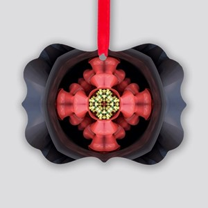 Emergence Pattern Picture Ornament