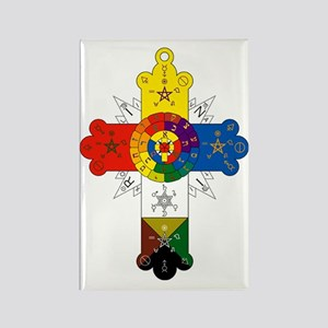 Rosicrucian Cross Rectangle Magnet