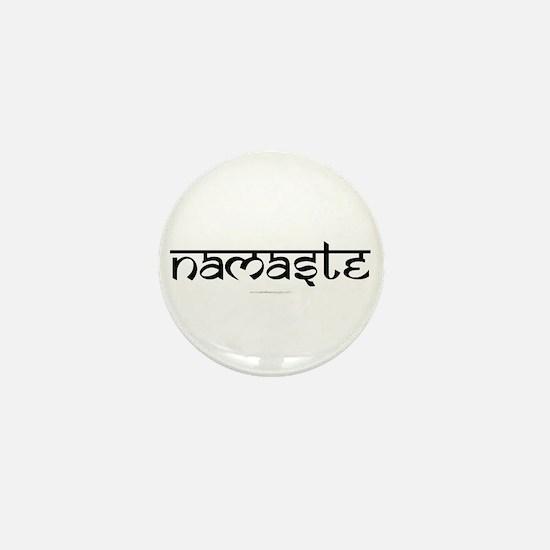 Namaste Yoga Ohm Mini Button