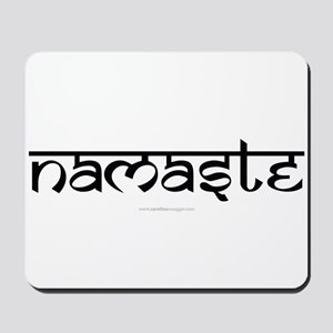 Namaste Yoga Ohm Mousepad