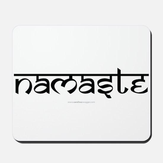Namaste Yoga Ohm Mousepad