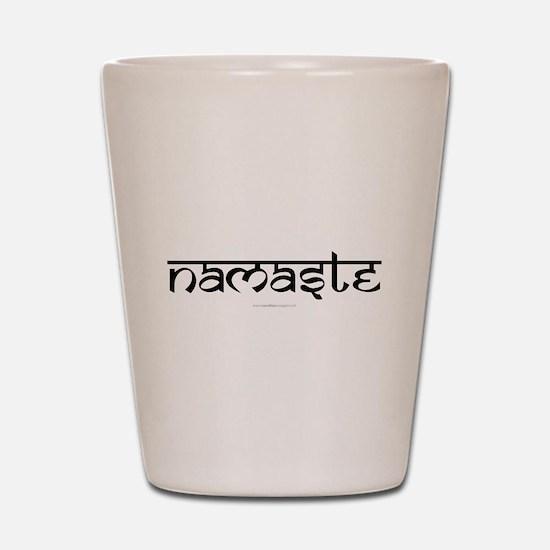Namaste Yoga Ohm Shot Glass