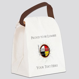 Personalized Proud to be Lumbee Canvas Lunch Bag