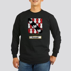 Purcell Family Crest Long Sleeve T-Shirt