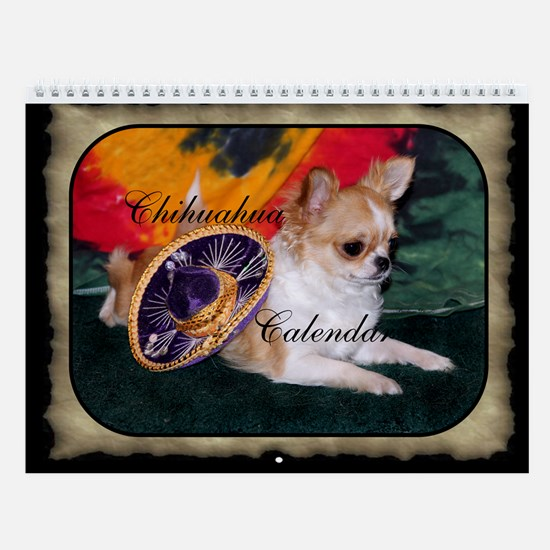 Chihuahua Wall Calendar (2014 Photos)