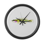Cleaner Goby Large Wall Clock