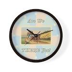 Stagecoach Wall Clock