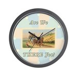 Stagecoach Wall Clock