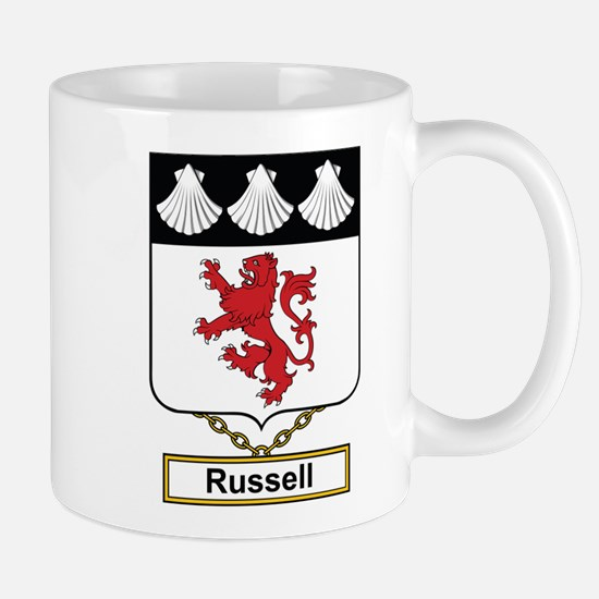 Russell Family Crest Mugs