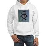 Skull Hooded Sweatshirt