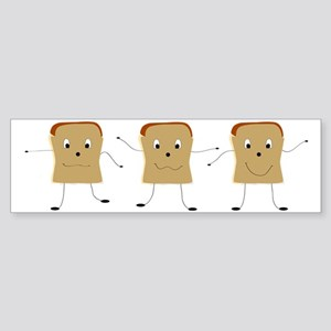Dancing Toast Sticker (Bumper)