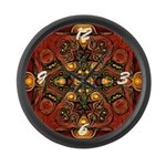 Pocket Chi Large Wall Clock