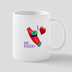 I Love My KAZOO Mug