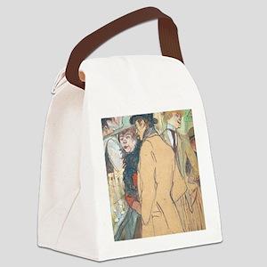 Henri de Toulouse-Lautrec - Alfre Canvas Lunch Bag