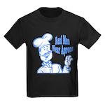 Real Men Wear Aprons Kids Dark T-Shirt