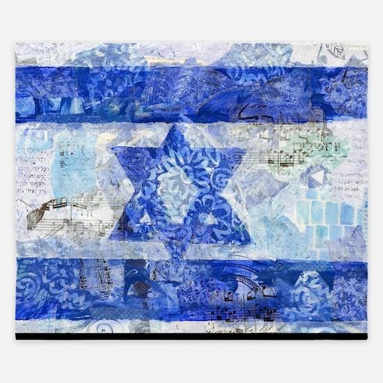 Flag of Israel King Duvet