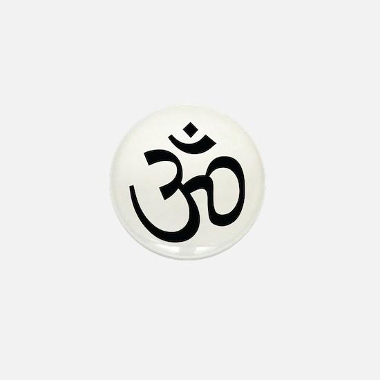 Yoga Ohm, Om Symbol, Namaste Mini Button
