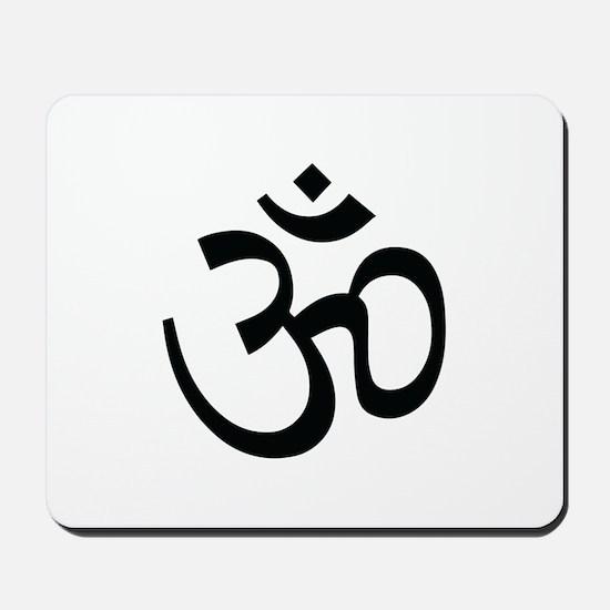 Yoga Ohm, Om Symbol, Namaste Mousepad