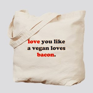 Vegan Bacon Tote Bag