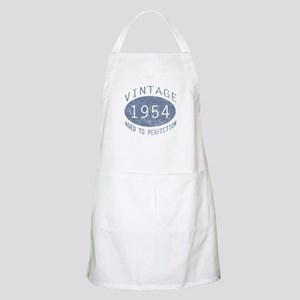 1954 Vintage Birthday (blue) Apron