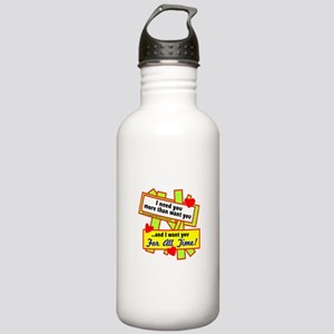 Want You For All Time-Glen Campbell Water Bottle