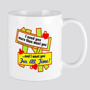 Want You For All Time-Glen Campbell Mugs