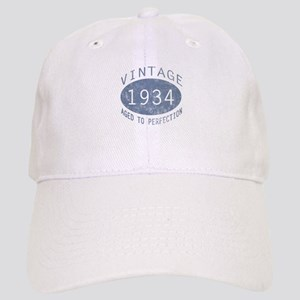 1934 Vintage Birthday (blue) Cap